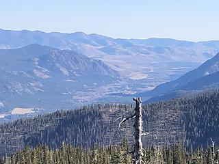 Looking south down the Methow Valley