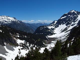 valley towards stehekin
