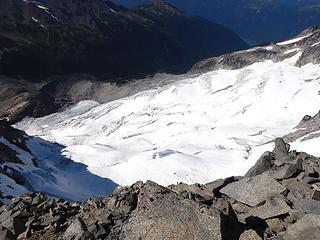 north face glacier