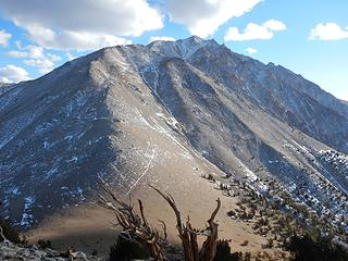 view of Boundary from the summit
