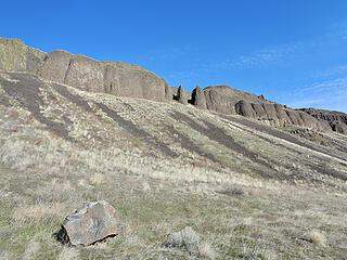 Basalt on Peak 362.