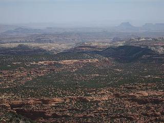 View east over South Desert