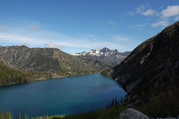 Cashmere Mountain and Colchuck Lake