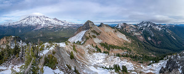 Summit pano east