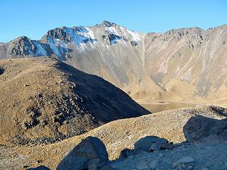 first view of Toluca main peak