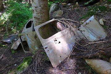 Hardscrabble wreck