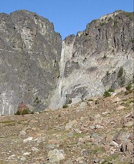 West Couloir/ The Couloir Route on He Devil Peak
