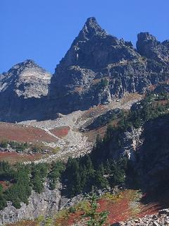 Plummer Mnt from Canyon - Image Trail