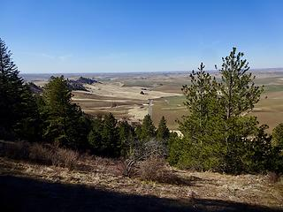 The west end of Kamiak Butte.