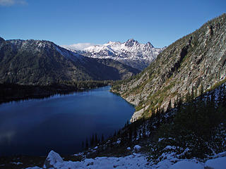 Lower Aasgard, Colchuck Lake, Cashmere Mountain in distance 10/5/07