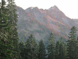 Peaks around Lake Beauty