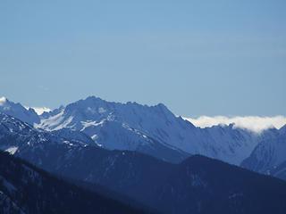 Mt. Anderson, Eel Glacier (left)