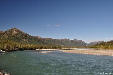 Koyokuk River in Wiseman