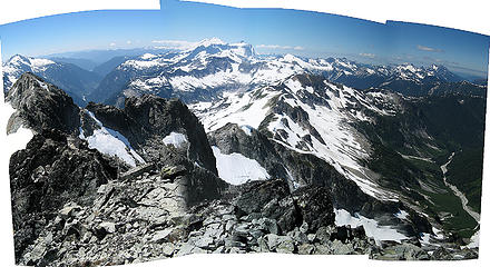 Whatcom summit pan 2, Baker River to Brush Creek