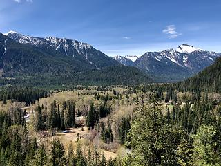 View towards Mt. David from the Twin Lakes Trail 5/3/19