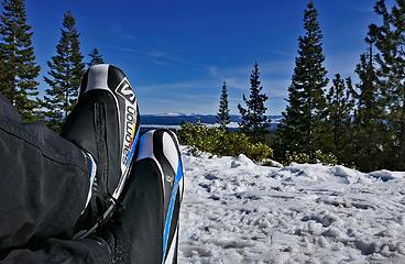 Swampy Sno Park XC ski, Nordeen hut 3/6/18