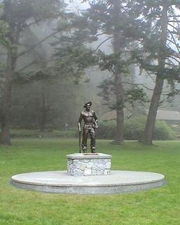 C.C.C. statue at Bowman Bay