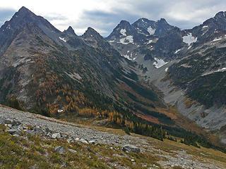 Easy Pass and Black Peak