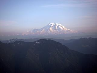 Summit view Rainier