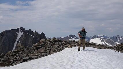 Eric on summit of Jackson