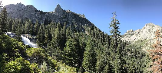 Approaching Vidette Meadows, Rae Lakes Loop, Kings Canyon National Park