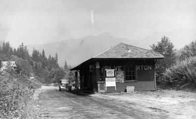 Silverton Station about 1940