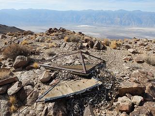 USGS garbage on the summit