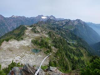 From Overlook Peak