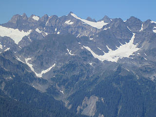 Mt. Olympus from Kimta peak