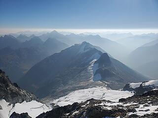 Douglas Glacier looked rough