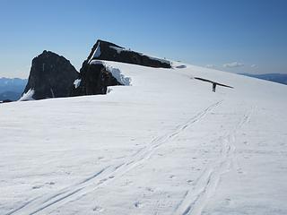 Approaching Banshee summit