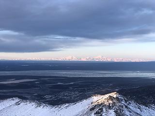 Alaska Range on full display!