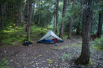 Excellent camp site @ Vista Creek