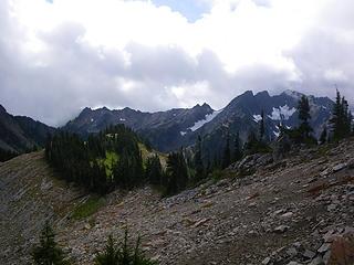 Mt. Skokomish from Stonesthrow Peak area