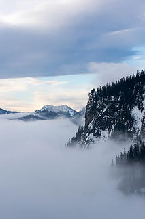 Above the fog