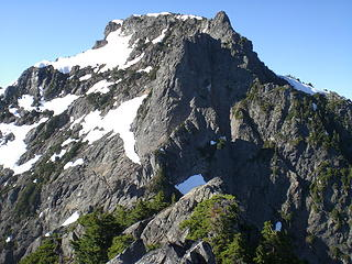 The Main Peak as seen from Middle Index.