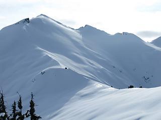 Ruth Mountain finally looks a bit closer!