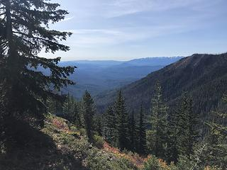 Looking down the Chiwawa River valley