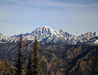 Mount Stuart from the Yellow Hill trail