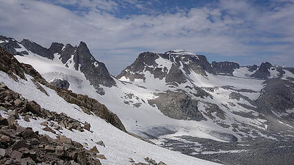 Indian Pass and the Knife Point Glacier