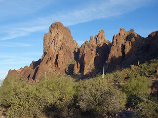 many spires;Kofa Wilderness, Kofa NWR, AZ