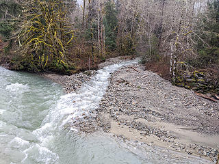 Granite Creek confluence 02/15/2020