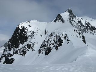 Our route toward Icy Peak