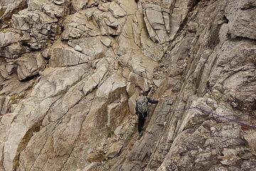 34. Philip getting his climb on