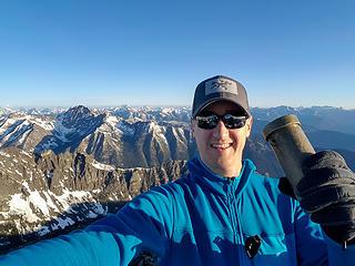 North Gardner summit selfie