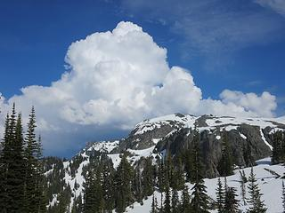 Clouds above Banshee