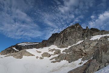 the cliffs of West Tenpeak