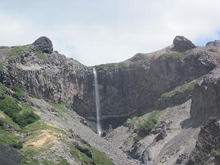 Falls near the pass