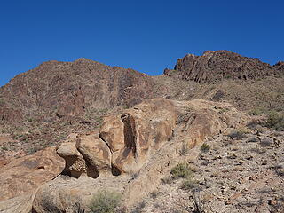"""the """"cholla poke"""" route (gully)"""