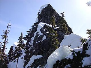 another non-Quartz summit with true summit visible to left
